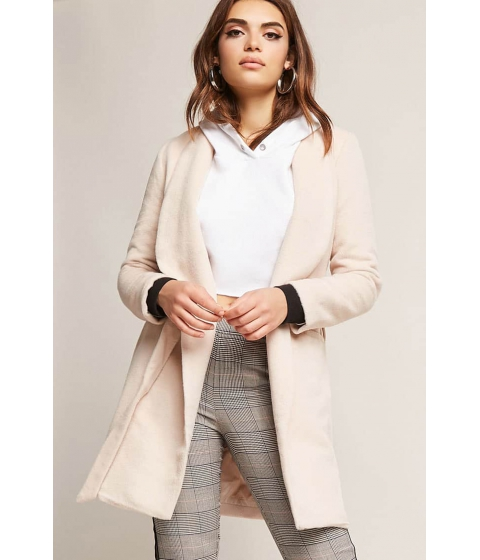 Imbracaminte Femei Forever21 Woven Belted Jacket MAUVE