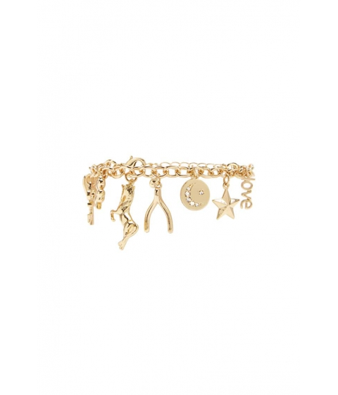 Bijuterii Femei Forever21 Unicorn Charm Bracelet GOLD