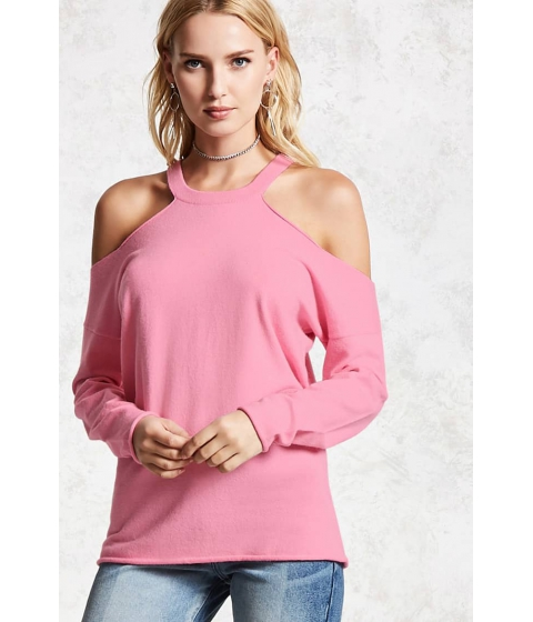 Imbracaminte Femei Forever21 Rolled Sweater PINK