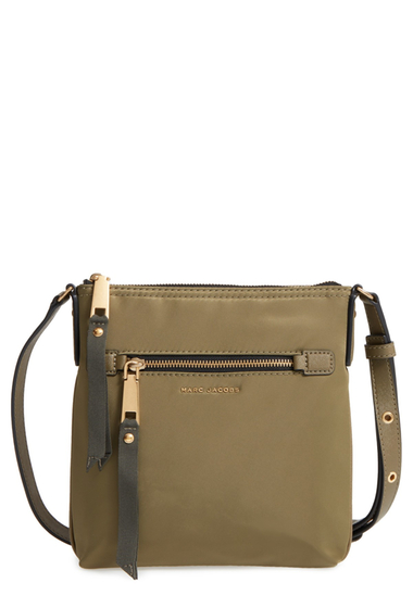 Genti Femei Marc Jacobs Trooper Nylon Crossbody Bag ARMY GREEN