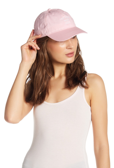 Accesorii Femei Body Rags Gym Now Wine Later Baseball Cap PINK