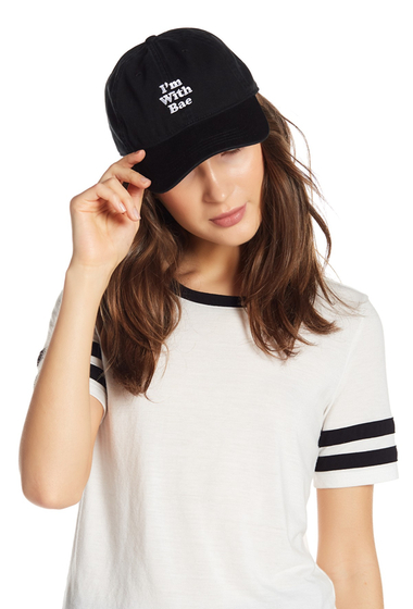 Accesorii Femei Body Rags I Am With Bae Baseball Cap BLACK