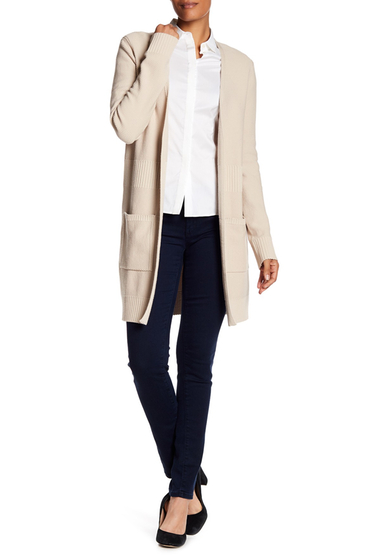 Imbracaminte Femei BOSS Hugo Boss Fahima Knit Long Cardigan MEDIUM BEIGE