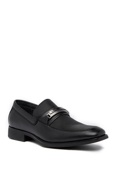 Incaltaminte Barbati Calvin Klein Ervin Slip-In Bit Loafer BLACK