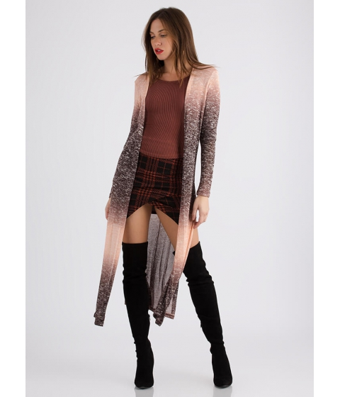 Imbracaminte Femei CheapChic Snow Bunny Knit Duster Cardigan Mauve