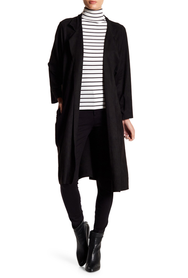Imbracaminte Femei Do Be Notch Collared Cardigan BLACK