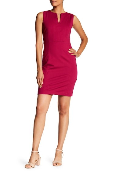 Imbracaminte Femei T Tahari Julia Ponte Dress WILD CURRANT