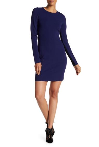 Imbracaminte Femei Diane Von Furstenberg Colorblock Mini Dress DEEP VIOLE