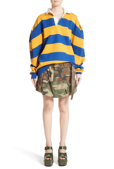 Imbracaminte Femei Marc Jacobs Camo Print Cargo Miniskirt MILITARY GREEN MULTI