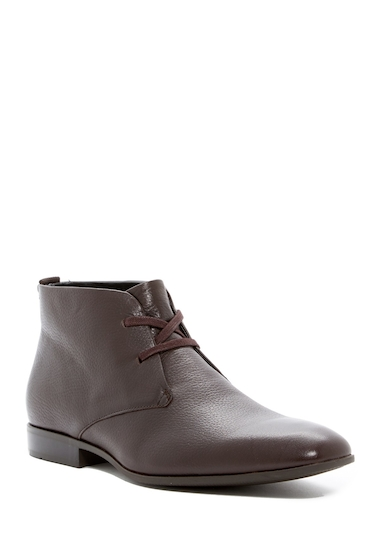 Incaltaminte Barbati Calvin Klein Carmichael Chukka Boot DARK BROWN