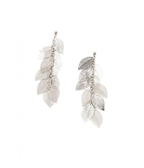 Bijuterii Femei Forever21 Tiered Leaf Drop Earrings SILVER