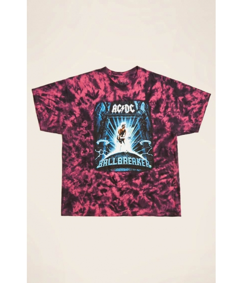 Imbracaminte Barbati Forever21 ACDC Ballbreaker Graphic Tee PINKBLUE