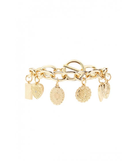 Bijuterii Femei Forever21 Oversized Charm Bracelet GOLD