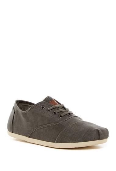 Incaltaminte Barbati TOMS Cordon Canvas Sneaker GREY
