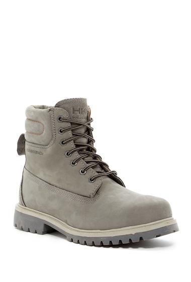 Incaltaminte Barbati Hawke Co Denali Nubuck Leather Lace-Up Boot GREY