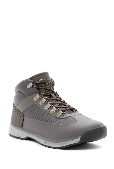 Incaltaminte Barbati Hawke Co Acadia Mid Lace-Up Sneaker GREY