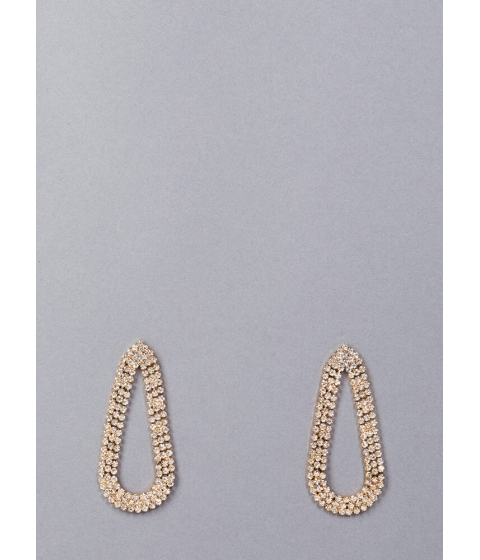 Bijuterii Femei CheapChic My Teardrops Rhinestone Earrings Gold