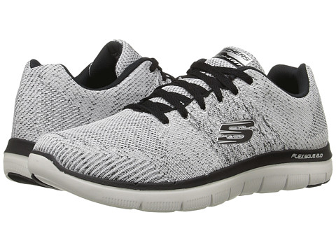 Incaltaminte Barbati SKECHERS Flex Advantage 20 Missing Link WhiteBlack