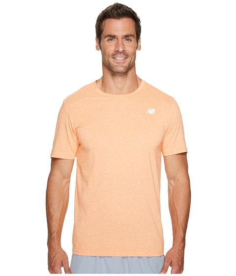 Imbracaminte Barbati New Balance Heather Tech Short Sleeve Dynomite
