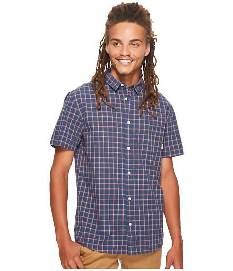 Imbracaminte Barbati Quiksilver Everyday Check Short Sleeve Shirt Dark Denim Everyday Check