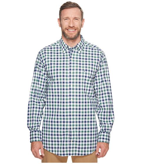 Imbracaminte Barbati Nautica Big amp Tall Long Sleeve Gingham Shirt Hunter Green
