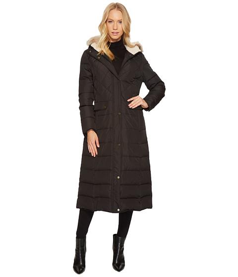 Imbracaminte Femei LAUREN Ralph Lauren Diamond Quilt Military Maxi Down Black