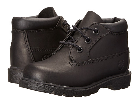 Incaltaminte Baieti Timberland 3 Eye Chukka (ToddlerLittle Kid) Black Full Grain Leather