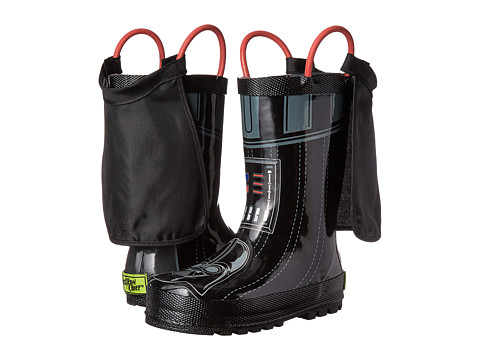 Incaltaminte Baieti Western Chief Kids Star Wars Darth Vader Rain Boot (ToddlerLittle KidBig Kid) Charcoal
