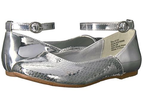Incaltaminte Fete kensie Ankle Strap Mary Jane (Little KidBig Kid) Silver Metallic