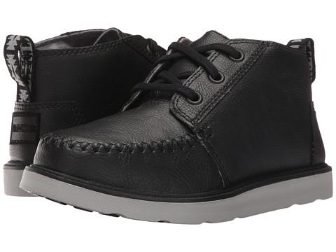 Incaltaminte Baieti TOMS Chukka Boot (Little KidBig Kid) Black Synthetic Leather
