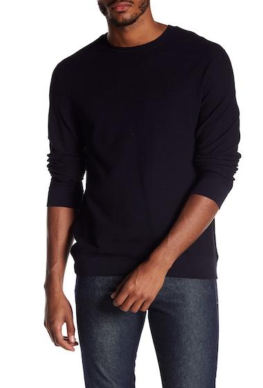 Imbracaminte Barbati Vince Waffle Knit Sweater COASTAL BLUE