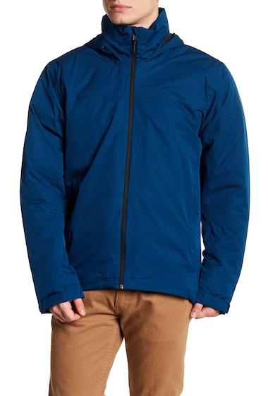 Imbracaminte Barbati adidas Front Zip Solid Climaproof Jacket BLUE