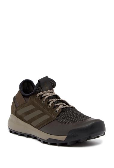 Incaltaminte Barbati adidas Terrex Mountain Pitch Nubuck Sneaker BROWN
