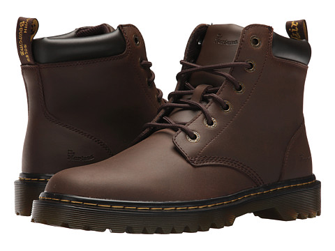 Incaltaminte Barbati Dr Martens Cartor Dark Brown Crazy Horse Action