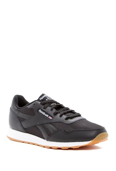 Incaltaminte Barbati Reebok Royal Nylon Gum Sneaker BLACKWHITE
