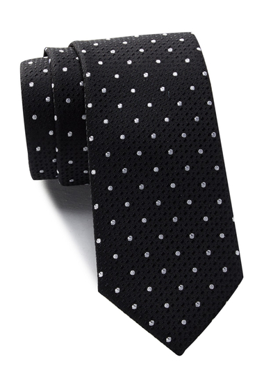 Accesorii Barbati 14th Union Camberly Dot Tie BLACK