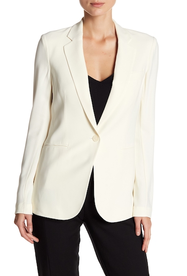 Imbracaminte Femei Theory Grinson Single Button Blazer IVORY