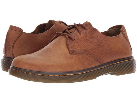 Incaltaminte Barbati Dr Martens Elsfield 3-Eye Shoe Tan Grizzly