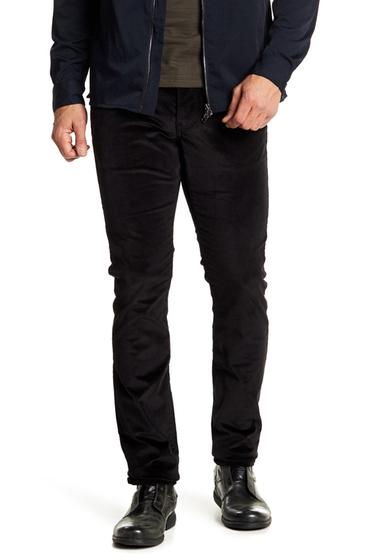 Imbracaminte Barbati John Varvatos Collection Woodward Pick Stitch Corduroy Slim Jeans BLACK