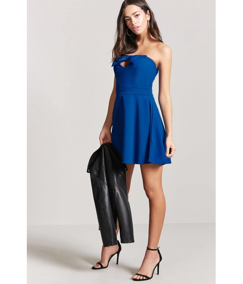 Imbracaminte Femei Forever21 Sweetheart Tube Dress ROYAL