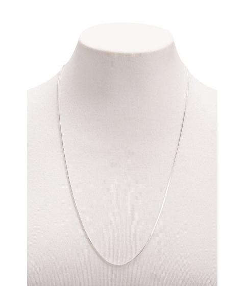 Bijuterii Femei Forever21 Box Chain Necklace SILVER