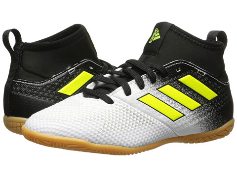 Incaltaminte Fete adidas Ace Tango 173 IN J Soccer (Little KidBig Kid) Footwear WhiteSolar YellowCore Black