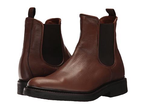 Incaltaminte Barbati Frye Country Crepe Chelsea Cognac Deer Skin Leather