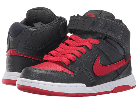 Incaltaminte Baieti Nike SB Kids Mogan Mid 2 Jr (Little KidBig Kid) AnthraciteUniversity RedWhite