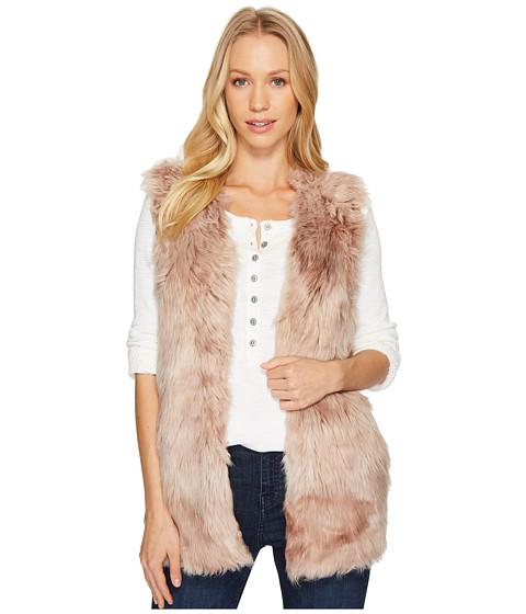 Imbracaminte Femei Liebeskind Melange Long Faux Fur Vest Pink