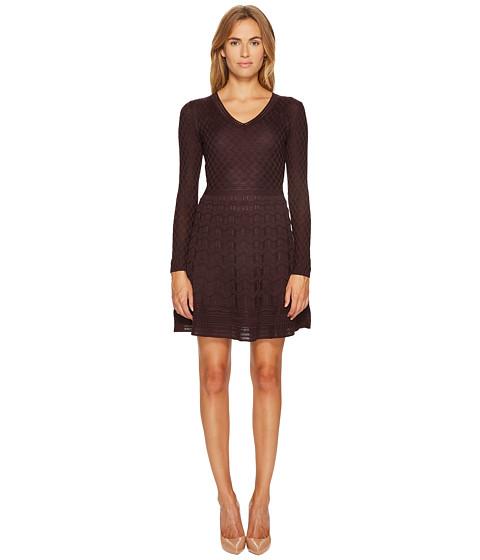 Imbracaminte Femei Missoni Solid Knit Dress Eggplant