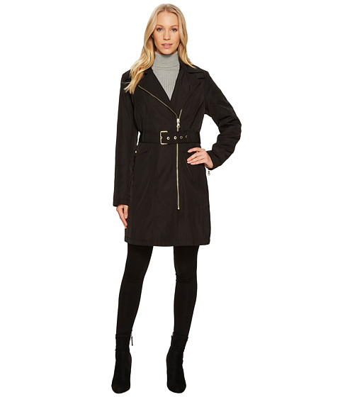 Imbracaminte Femei Vince Camuto Belted Asymmetrical Zip Trench N8711 Black