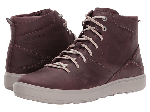 Incaltaminte Femei Merrell Around Town Mid Lace Huckleberry