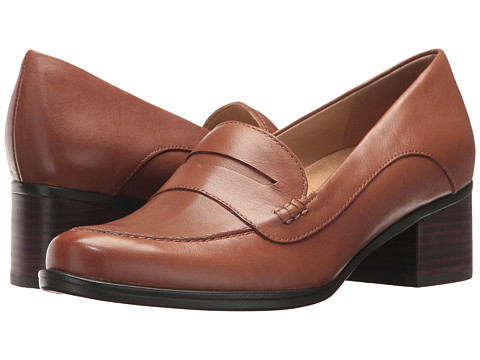 Incaltaminte Femei Naturalizer Dinah Saddle Tan Leather