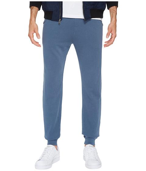 Imbracaminte Barbati Alternative Apparel Lightweight French Terry Weathered Wash Pants Denim Blue